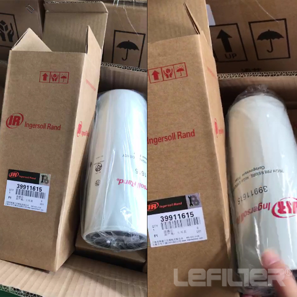 Ingersoll rand oil filter element 3991161