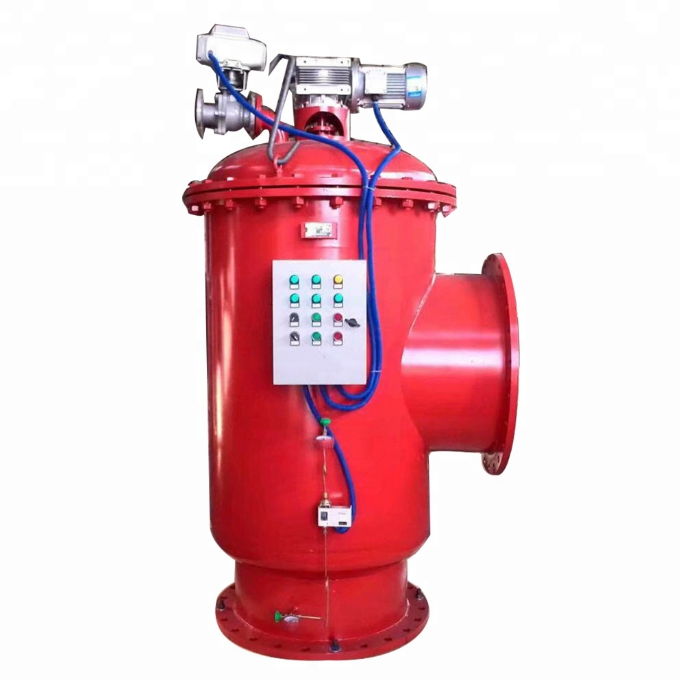 Industrial automatic self cleaning water filters