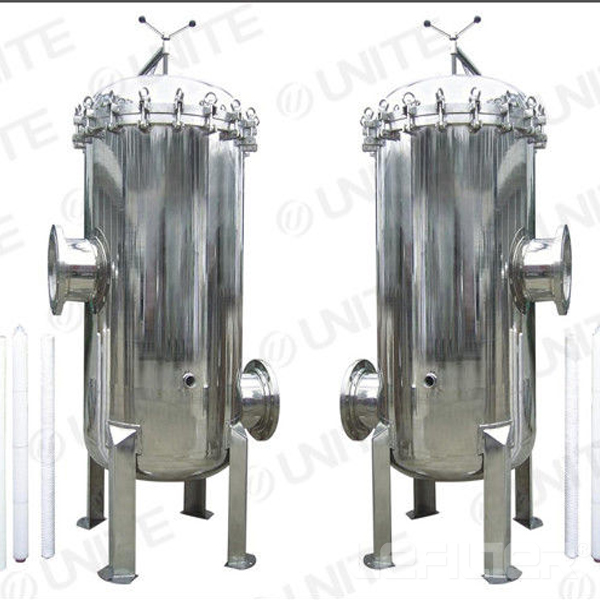 Industrial water bag filter housing