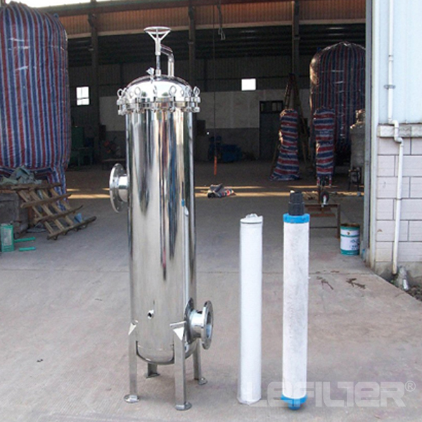 Industrial water 40inch cartridge filter housing