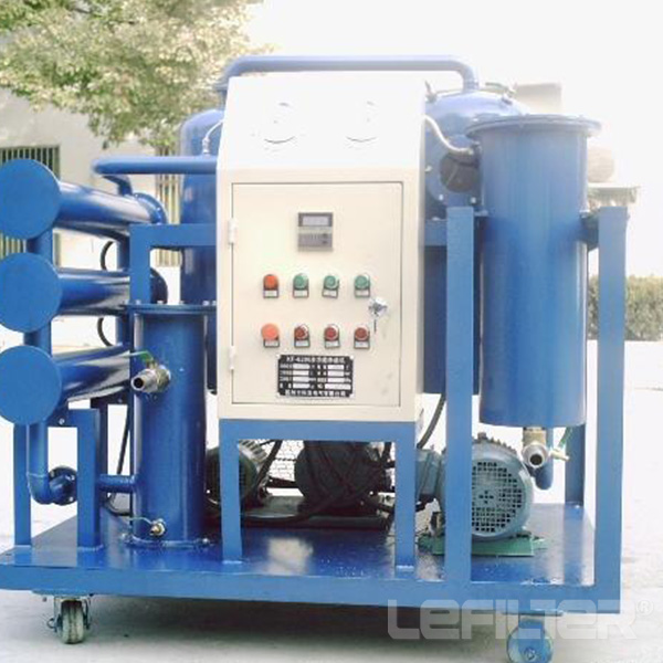 LEFILTER TY Special vacuum turbine oil purifier