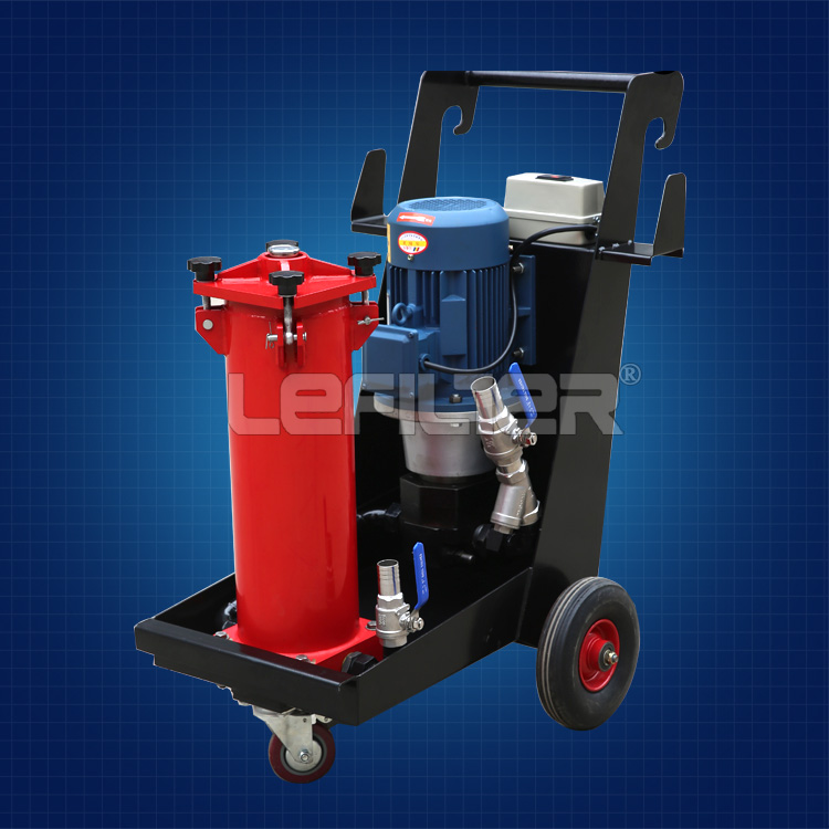 Hot sell portable oil purifier machine LUC-100