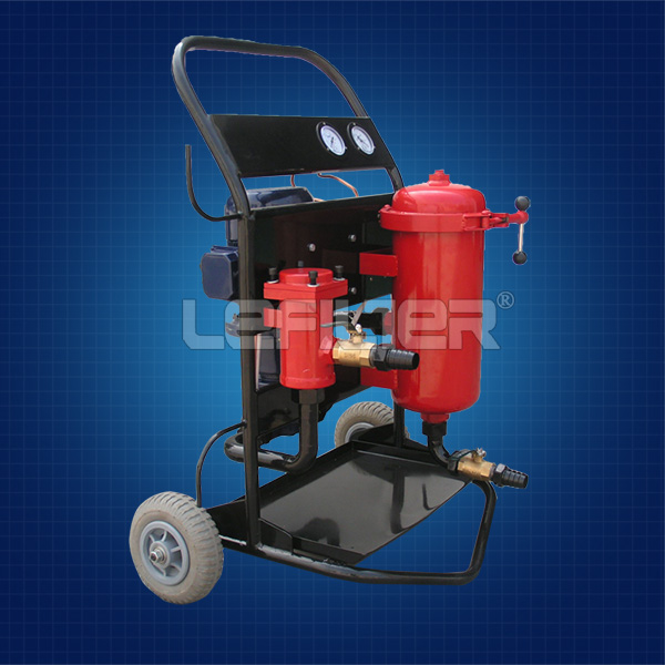 hand push - type OIL FILTER ,oil purifier machine