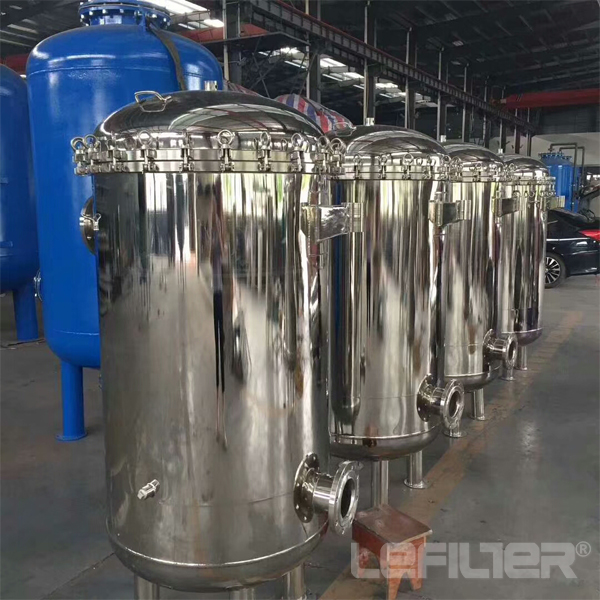High flow bag filter housing factory