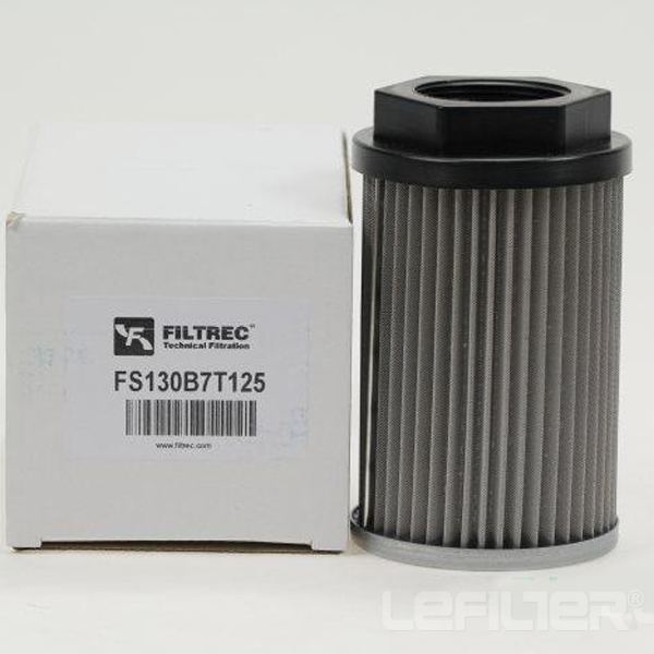 Replacement Filtrec Fs130b7t125 Filter El