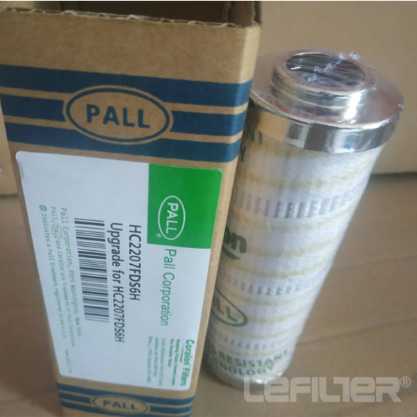 PALL hydraulic filter element HC2207FDS6H