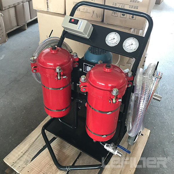 LYC- 100B  High Precision Oil Filter Cart series
