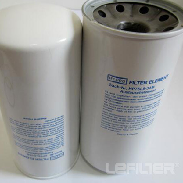 replacement HY-PRO Spin-on oil filter HP75L8-25AB