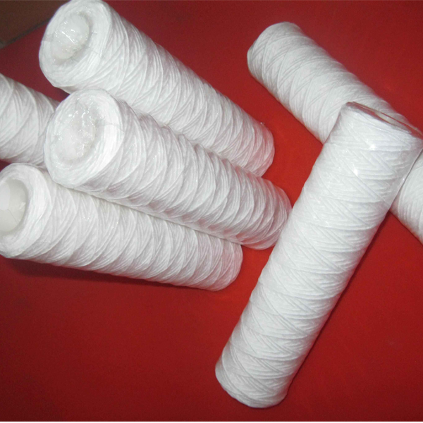 Wire-wound filter element for water treat